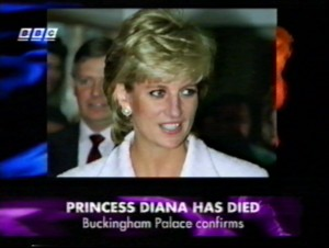 Buckingham Palace Confirms the death of Diana, Princess of Wales